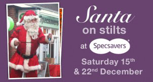santa-on-stilts-at-the-furlong-shopping-centre-ringwood