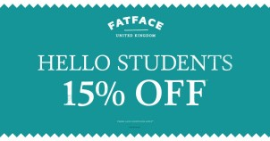 Fat Face Ringwood Student Discount